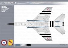 121-MirageF1B-04-dessous
