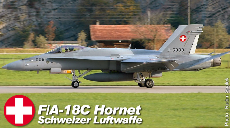Profil d'un F/A-18C de Staffel 11