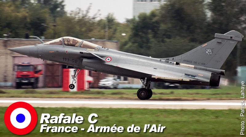 Rafale C – 113-GR – EC 1/7 – France – Armée de l'Air – 2013