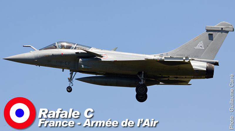 Rafale C – 118-EF – ECE 5/330 – France – Armée de l'Air – 2014
