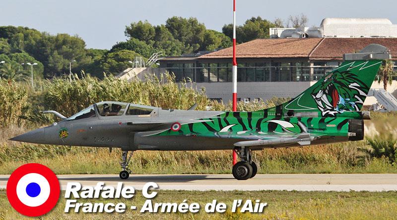 Rafale C – 113-IX – EC 1/7 – France – Armée de l'Air – 2015