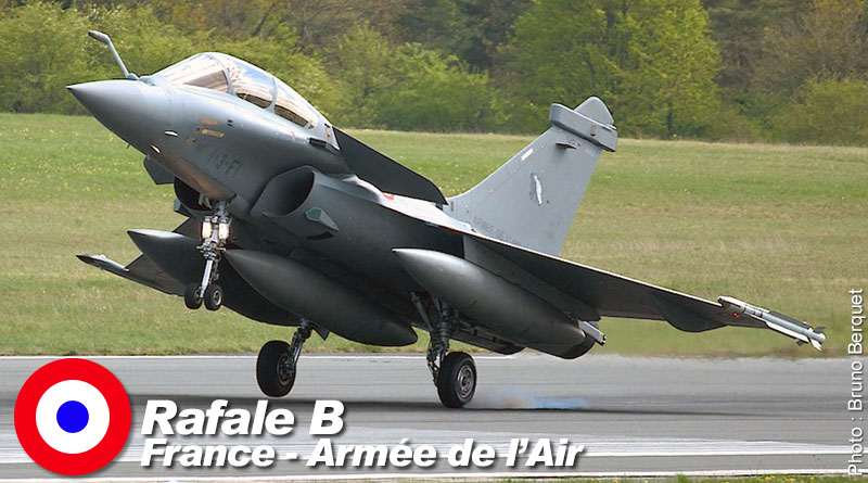 Rafale B – 113-FI – EC 1/91 – France – Armée de l'Air – 2015