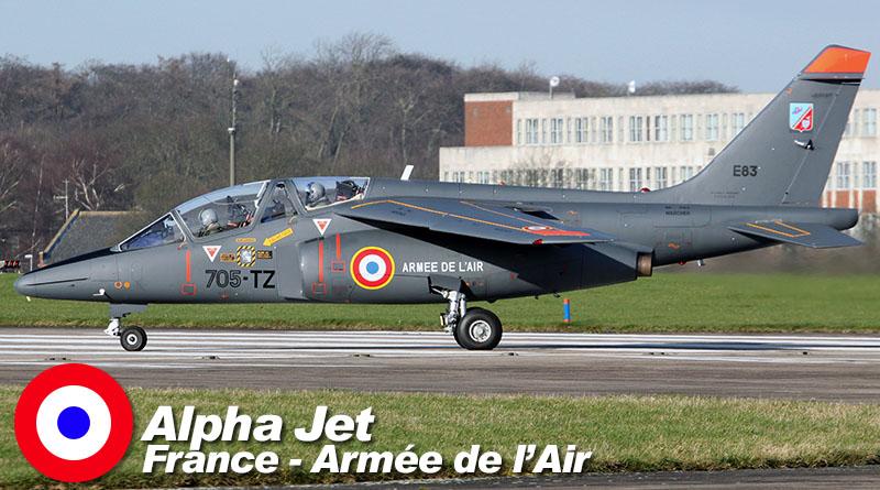 Alphajet – 705-TZ – EIV 3/13 – France – Armée de l'Air – 2016