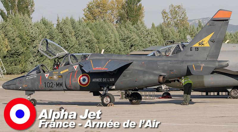 Alphajet – 102-MM – EE 2/2 – France – Armée de l'Air – 2011