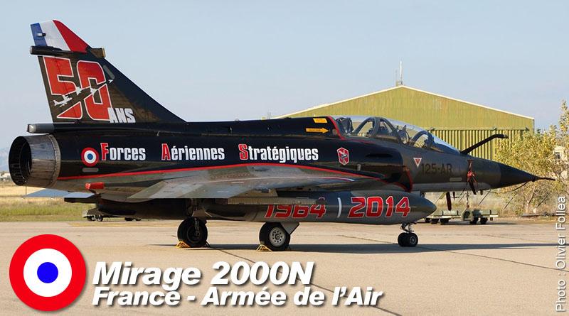 Mirage 2000N – 125-AA – EC 2/4 – France – Armée de l'air – 2014
