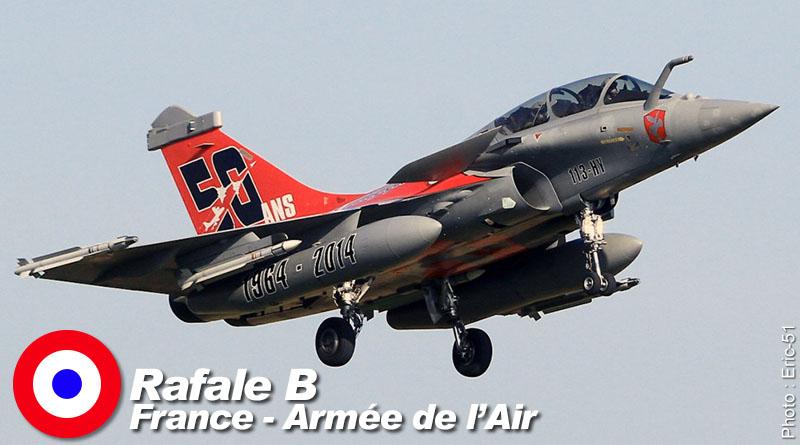 Rafale B – 113-HY – EC 1/91 – France – Armée de l'Air – 2015