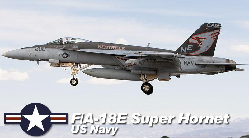 F/A-18E – 165897 – VFA-137 – USA – US Navy – 2016