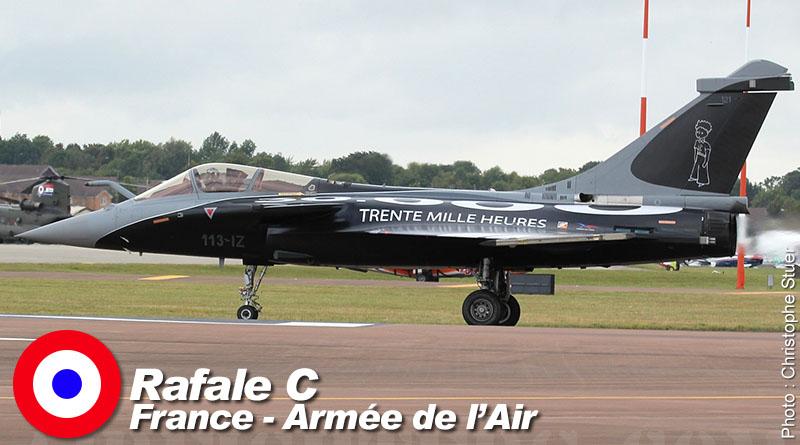 Rafale C – 113-IZ – EC 1/7 – France – Armée de l'Air – 2011