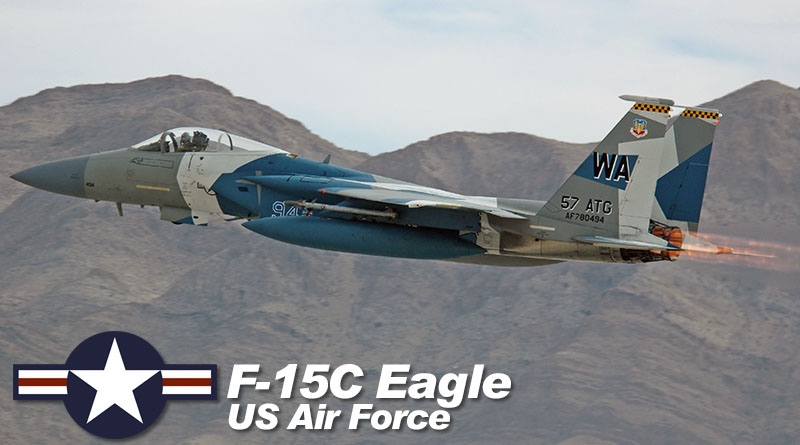 F-15C – 78-0494 – 57th FW – USA – US Air Force – 2013