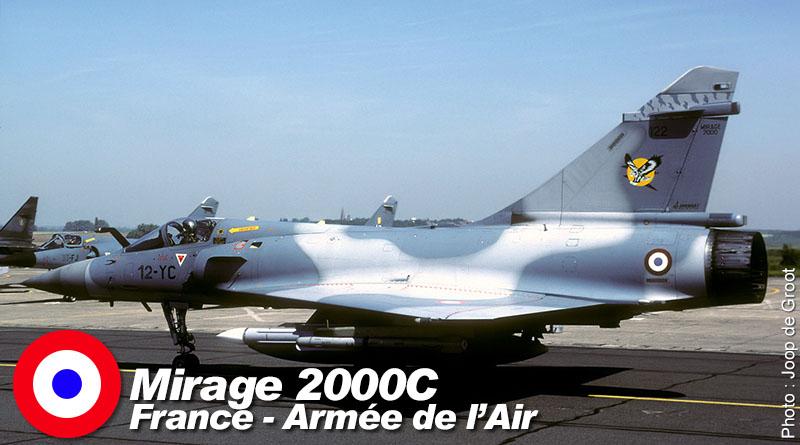Mirage 2000C – 12-YC – EC 1/12 – France – Armée de l'Air – 1998