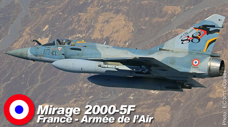 Mirage 2000-5F – 188-EL – EC 3/11 – France – Armée de l'Air – 2016