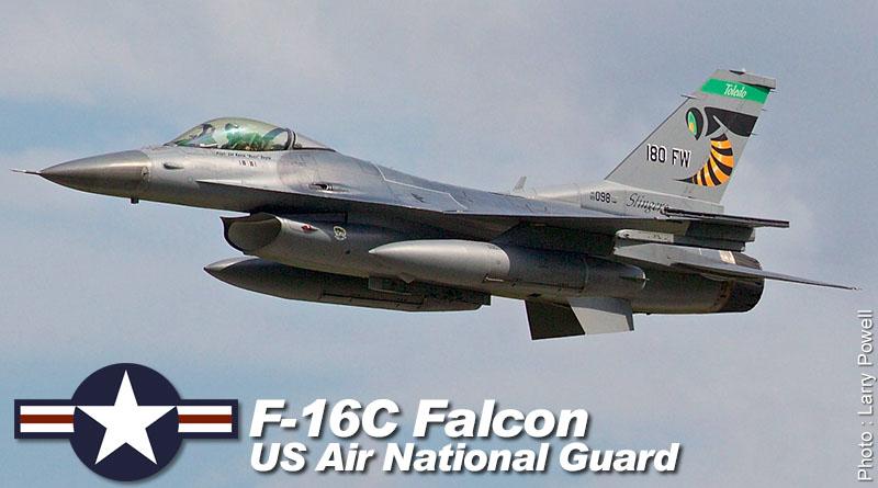 F-16C – 89-2098 – 180th FW – USA – OH ANG – 2016