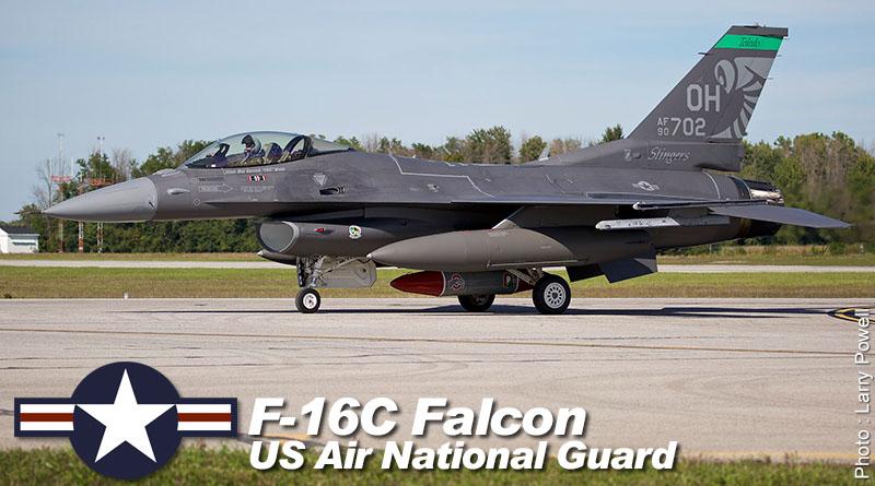 F-16C – 90-0702 – 180th FW – USA – OH ANG – 2016