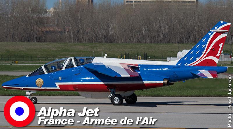Alphajet – FTETF – Patrouille de France – France – Armée de l'Air – 2017