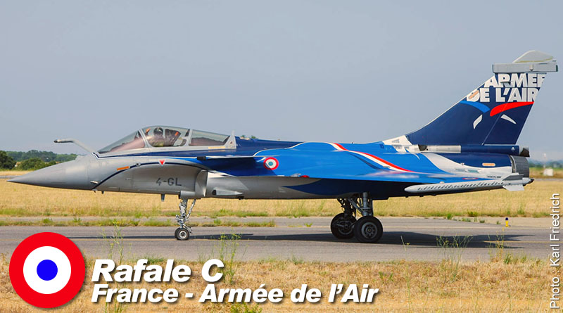 Rafale C – 4-GL – Rafale Solo Display – France – Armée de l'Air – 2017