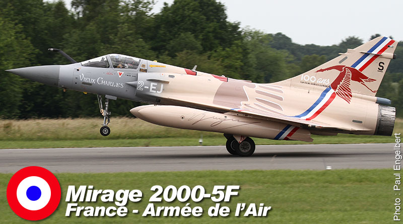 Mirage 2000-5F – 2-EJ – EC 1/2 – France – Armée de l'Air – 2017