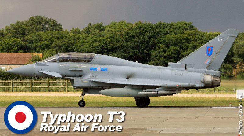 EF-2000 T3 – ZK381 – No. 6 Sqn – Royaume-Uni – Royal Air Force – 2015