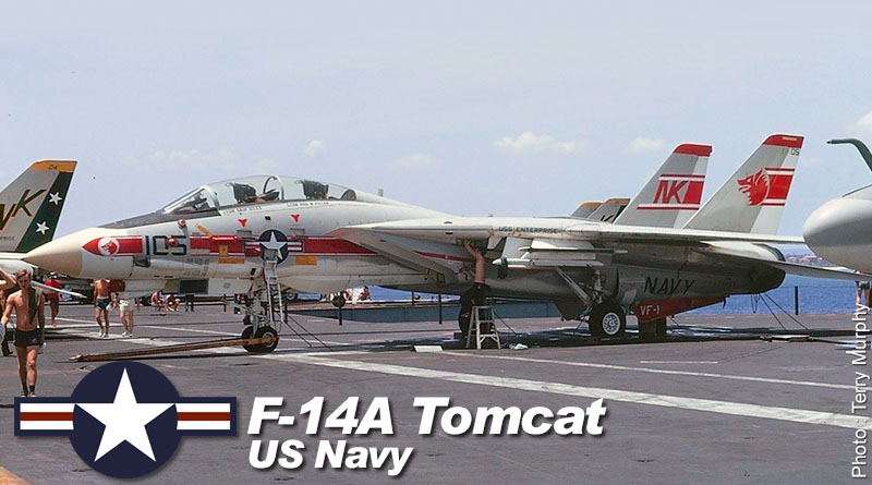 F-14A – 158981 – VF-1 – USA – US Navy – 1975
