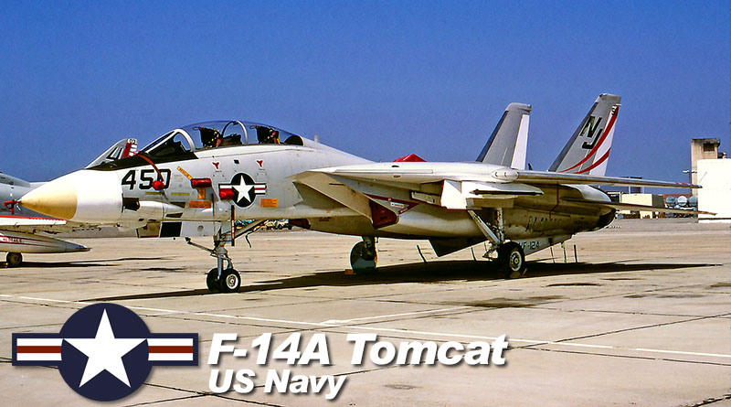 F-14A – 160658 – VF-124 – USA – US Navy – 1978