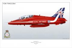 300-Hawk-T1a-Royaume-Uni-Red-Arrow