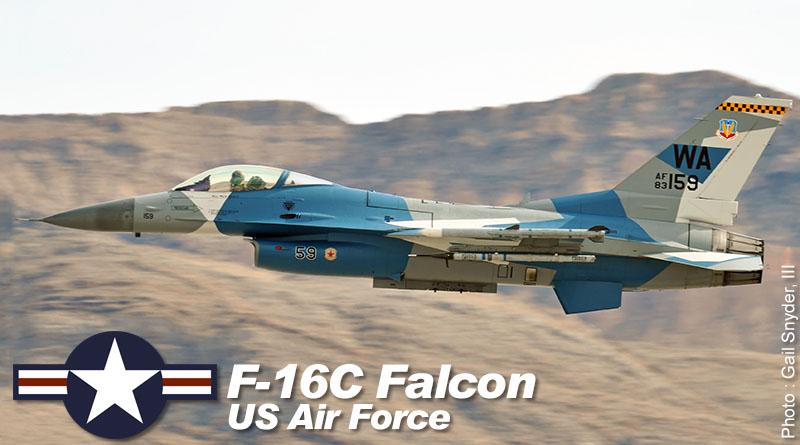 F-16C – 83-1159 – 57th ATG – USA – US Air Force – 2016