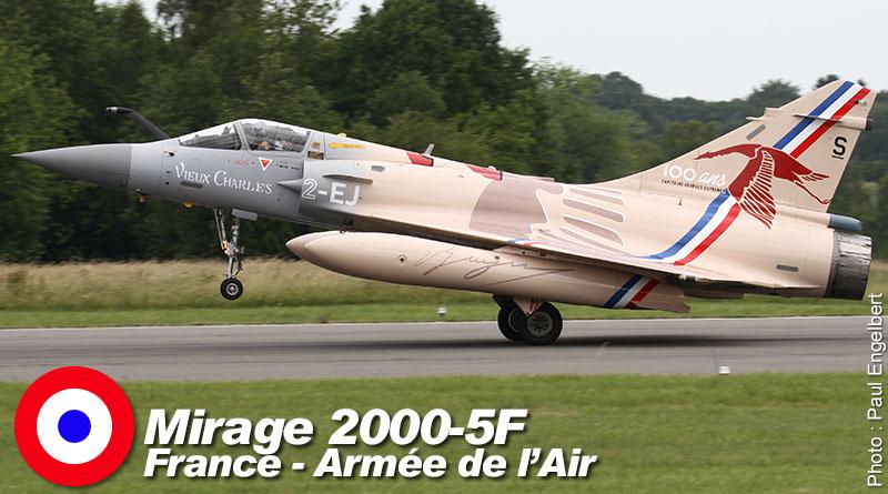 Mirage 2000-5F – 2-EJ – EC 1/2 – France – Armée de l'Air – 2017