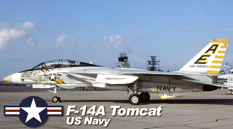F-14A – 159449 -VF-142 – USA – US Navy – 1976