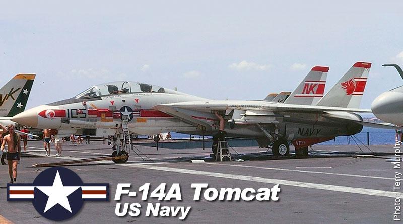 F-14A – 158981 – VF-1 – USA – US Navy – 1975